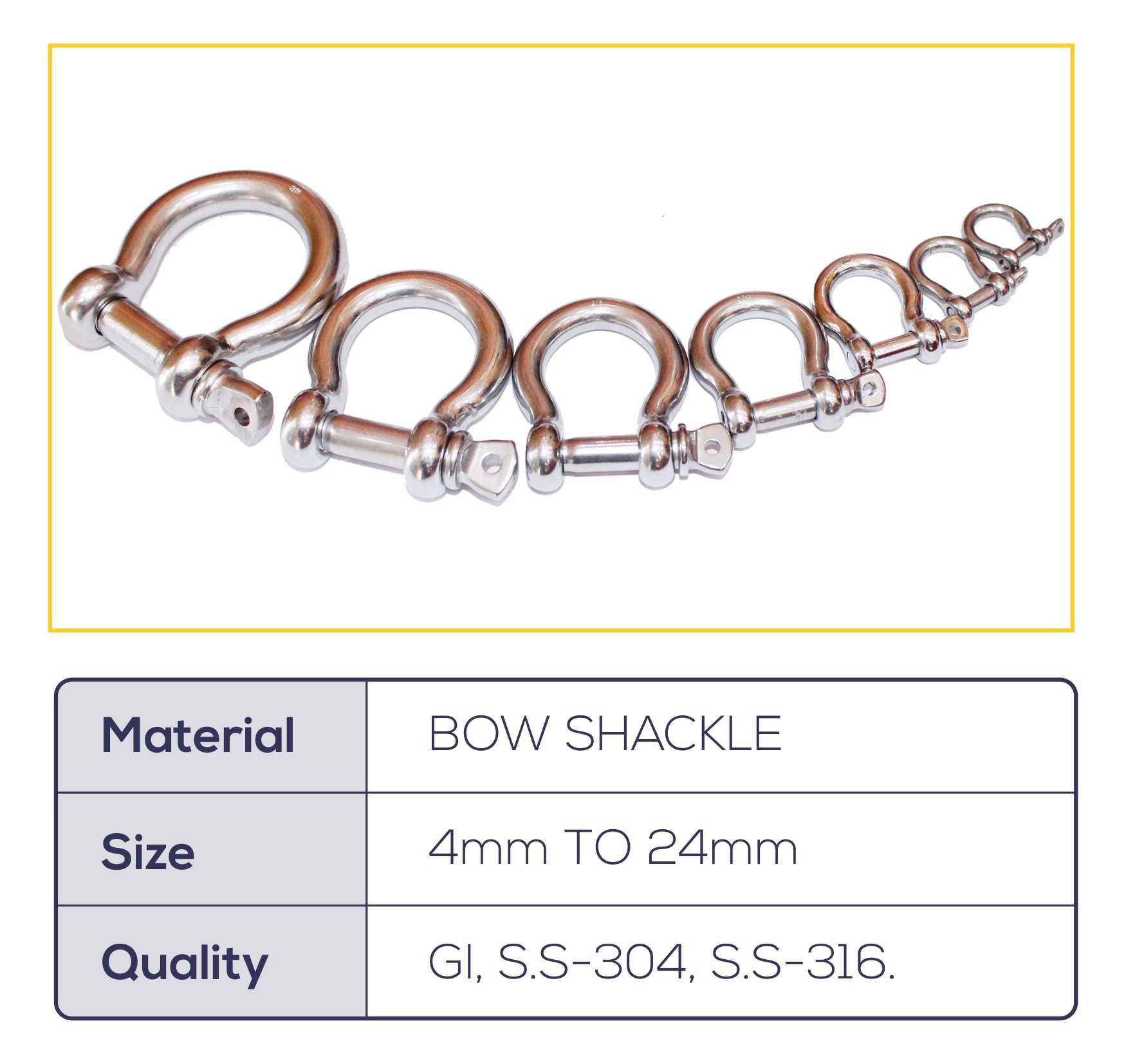 Bow Shackle
