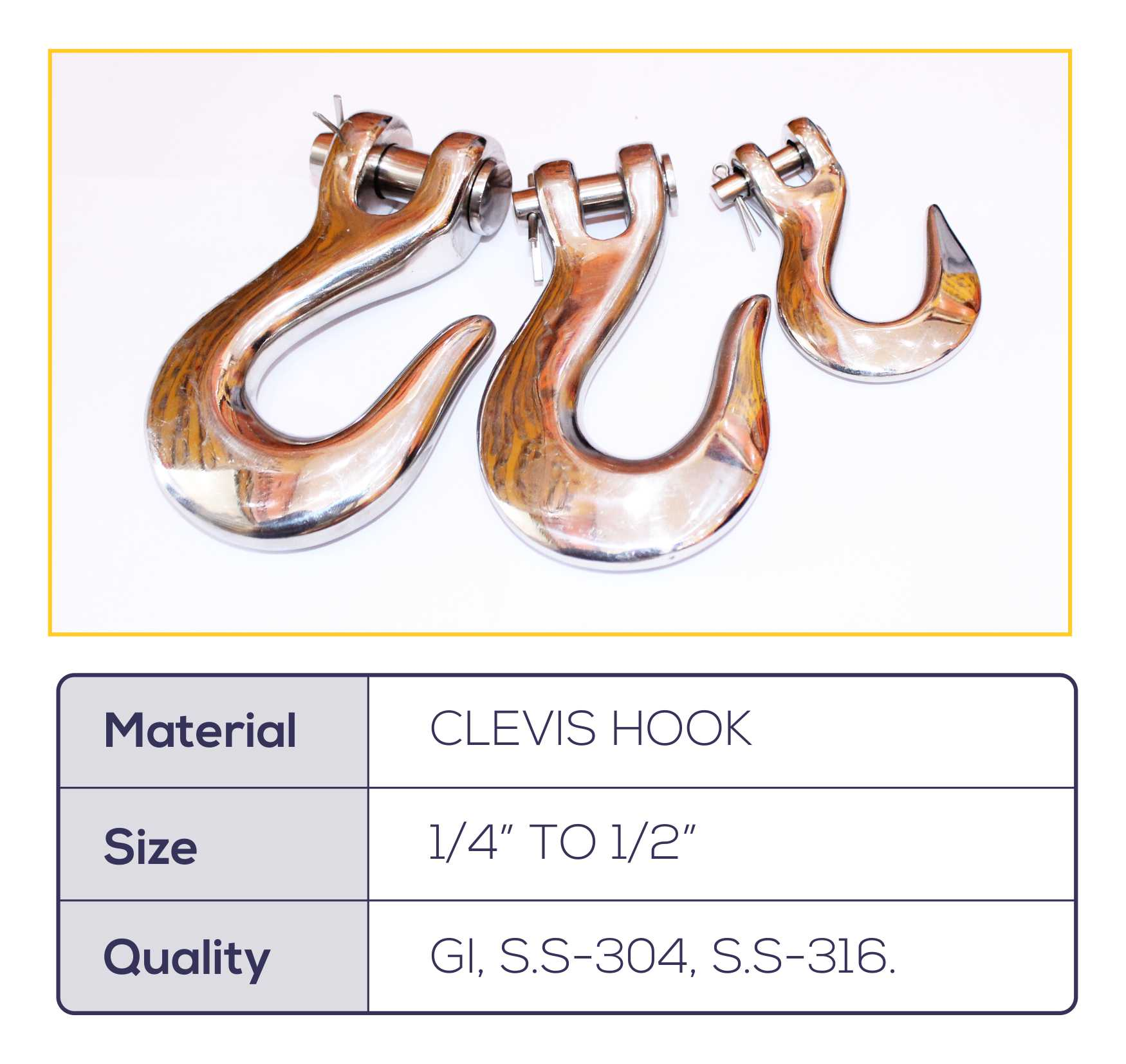 Clevis Hook